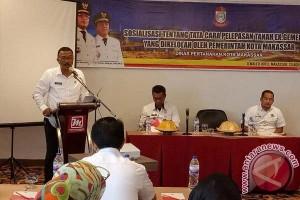 "Pemkot Makassar Sosialisasikan Pelepasan Tanah ""Ex Gementee"""