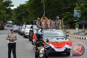 Pemkab Sinjai Arak Piala Lomba Desa Nasional