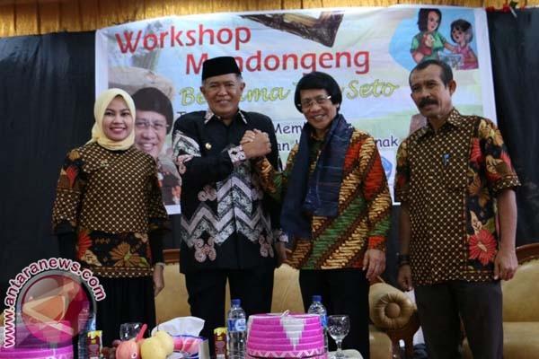 Bupati Bulukumba Apresiasi Workshop Mendongeng