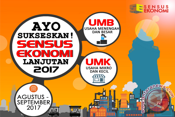 BPS Mamuju Lanjutkan Sensus Ekonomi 2017