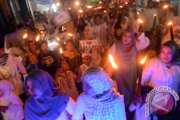 Pawai Obor Warnai Perayaan Tahun Baru Islam