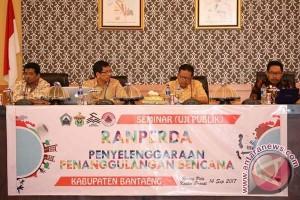 BPBD Bantaeng Gelar Seminar Ranperda Penanggulangan Bencana