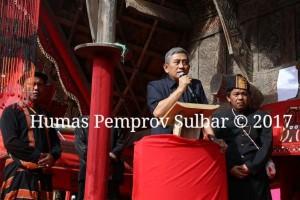 Gubernur Sulbar Hadiri Pemakaman Tokoh Masyarakat Mamasa
