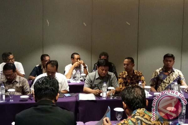 Bupati Gowa Rakor SPAM Mamminasata Di Jakarta