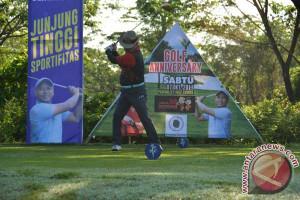 Gubernur-Wagub Meriahkan Turnamen Golf Eksekutif HUT Sulsel