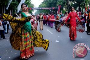 Karnaval Fashion Sulsel Menjadi Ajang Pamer Kreativitas