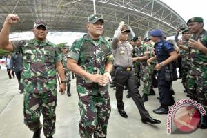 Gatot: Ekonomi Sulsel Meningkat Karena Kekompakan TNI-Polri