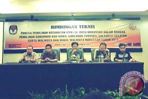 KPU Makassar Gelar Bimtek Untuk PPK-PPS