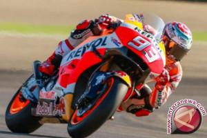 Marquez Juara Dunia MotoGP 2017, Dovizioso terjatuh