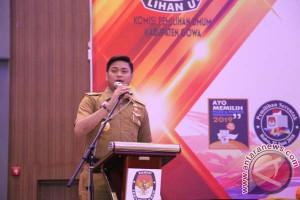 Bupati Gowa Harap PPK-PPS Sukseskan Pemilu