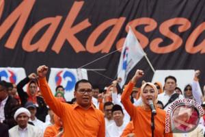 Petahana Wali Kota Deklarasi Di Anjungan Makassar
