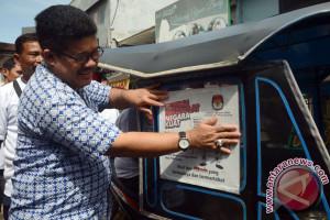 KPU Sulsel Manfaatkan Bentor Sosialisasi Pilkada 2018