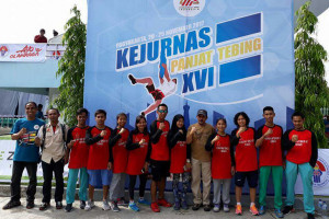 Atlet Panjat Tebing Sulsel Raih Medali Perunggu