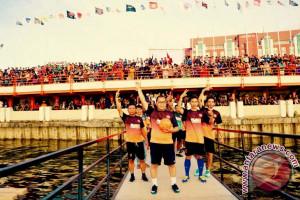 Makassar Perkenalkan Liga Futsal Di Atas Laut