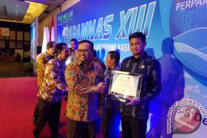 Bupati Gowa Dapat Penghargaan Perpamsi Award
