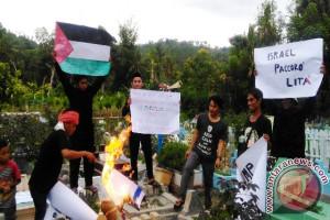 Aksi Solidaritas Palestina di Polewali Mandar