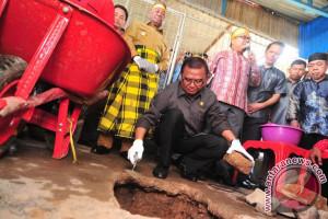 Wagub Letakan Batu Pertama Pembangunan Kantor KKSS