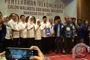 PAN Resmi Usung Appi-Cicu Maju Pilwali Makassar