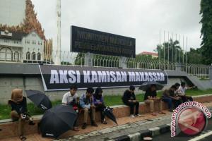 Aksi Kamisan Makassar Setop Kekerasan Jurnalis