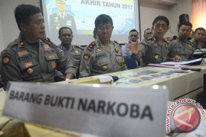 Polres Mamuju ringkus pelaku penyalahgunaan narkoba