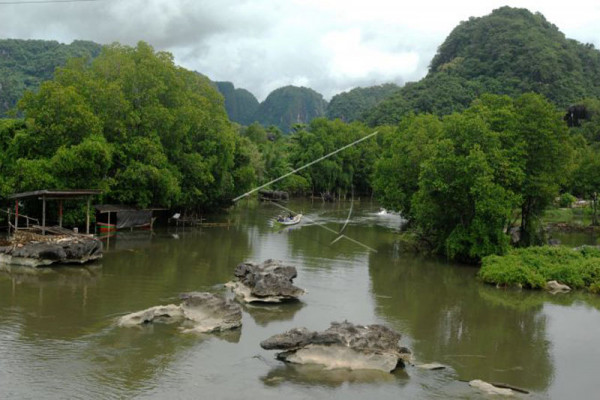 Bosque de piedra de Rammang-Rammang