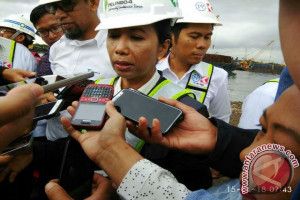 Menteri BUMN tinjau proyek 'New Port' di Makassar