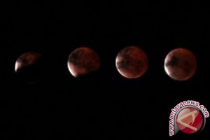 Cara melihat gerhana bulan Super Blue Blood Moon