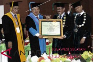 JK raih gelar HC UIN Alauddin Makassar