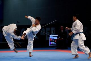 Tujuh karateka memperkuat timnas di Prancis