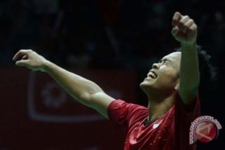 Anthony Sinisuka Ginting juara Indonesia Masters 2018