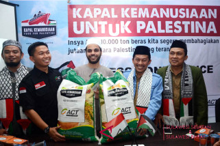 ACT Sulsel kumpulkan beras kemanusiaan bantu Palestina