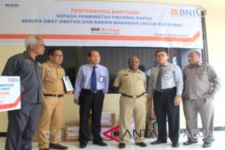 BNI Papua bantu warga Asmat