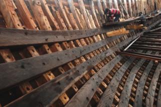 Pembuatan Perahu Phinisi