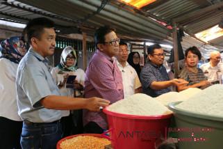 Pantau beras DPRD Sulsel sidak pasar tradisional