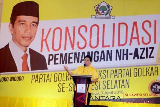 Konsolidasi pemenangan Nurdin-Azis