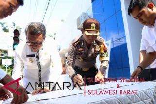 Bupati Bantaeng resmikan pos layanan lalu lintas terpadu