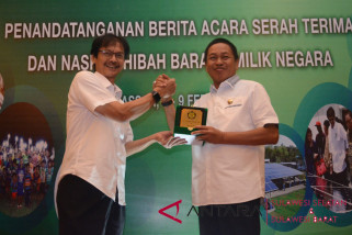 Pangkep terima bantuan BMN PLTS Rp24 miliar
