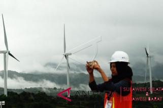 Empat turbin kincir PLTB mulai hasilkan listrik