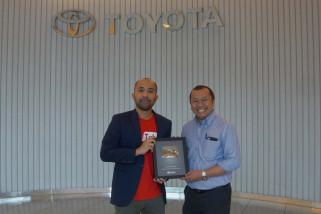 Channel youtube toyota raih penghargaan google Indonesia