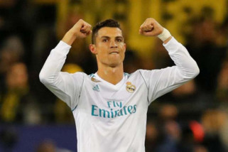 Real Madrid cukur Sociedad, Ronaldo cetak hattrick