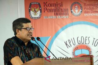 KPU Sulsel dorong partisipasi pemilih milenial