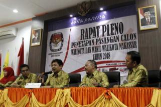 Penetapan calon Wali Kota Makassar