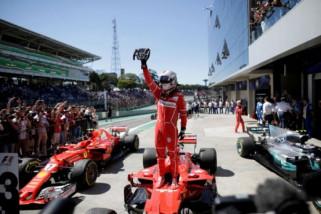 Vettel tercepat uji pramusim di Circuit de Catalunya
