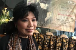 Menteri Susi Pudjiastuti jadi model peragaan busana