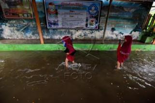 Sekolah Terendam Banjir