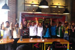 Akademisi dan jaringan pemuda deklarasi damai