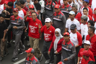 Jalan Santai Wapres Bersama KKSS