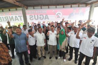 pasangan Agus-TBL sosialisasi sisir dua kabupaten