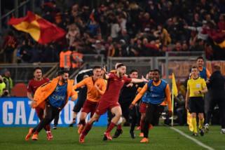 Roma  Singkirkan Barcelona dari Liga Champions