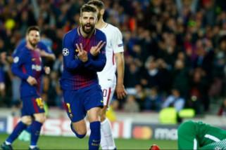 Barcelona bungkam Roma 4-1